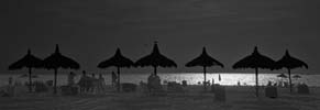Day For Night - At the Beach - 6614 - Photograph by H. David Stein