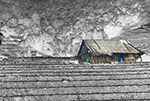 A House in a village in North Vietnam - Photograph by H. David Stein